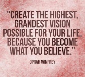 oprah winfrey quote, oprah winfrey show, ofrah winfrey believe